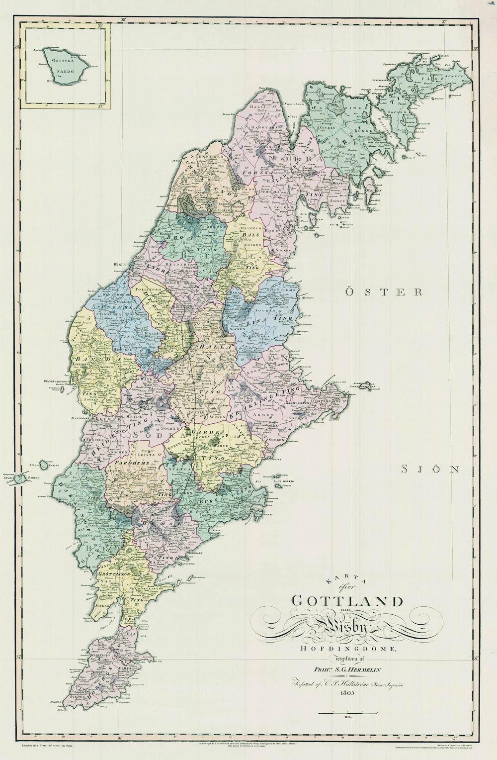 Gotlandica Historiska Kartor